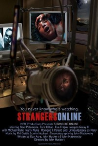 "Poster for the movie ""Strangers Online"""