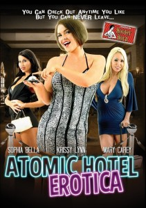 "Poster for the movie ""Atomic Hotel Erotica"""